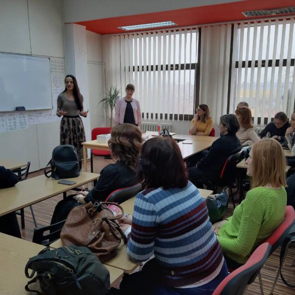 Individualni tečaj engleskog jezika za nastavnike i suradnike PTFOS-a i MFOS-a