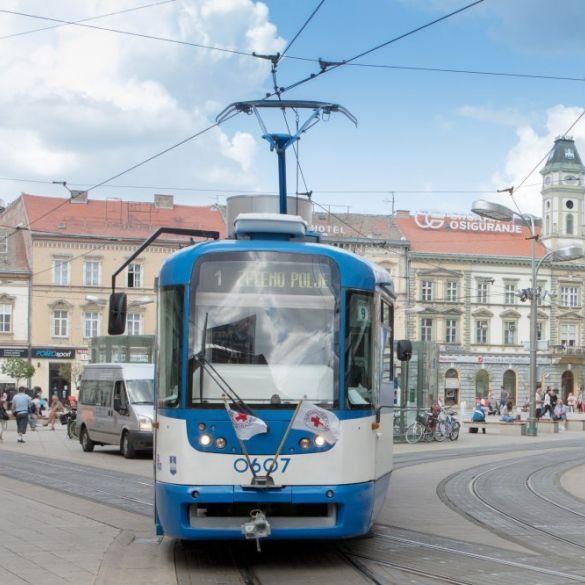 Tramvajska linija br. 1 po nedjeljnom rasporedu vožnje